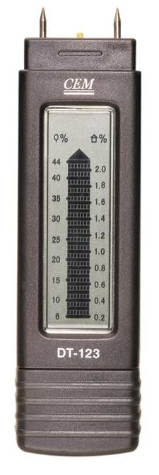 Damp Meter - Wood and Masonry Scales