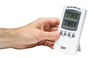 Home Humidity Meter - how damp is your air?