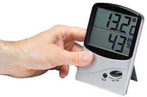 Large numbers Home Humidity Meter